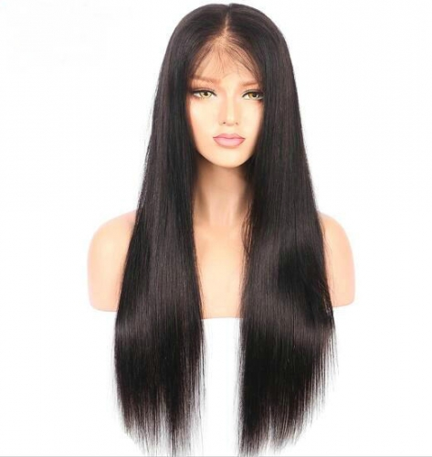 360 Lace Frontal Wigs Pre Plucked With Baby Hair Straight Hair 360 Wig Virgin Hair Lace Wigs