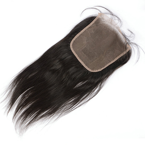 6x6 Lace Clousre Pre Plucked Natural Hairline Straight Virgin Human Hair Closure