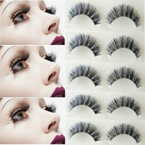 Hand Made Mink Eyelashes Natural Long 3d False Eyelashes 3d Mink Lashes Makeup Eyelash Extension