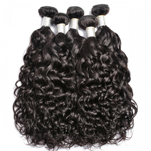 Water Wave Bundles 10-30 Inches Can Buy Mix Lengths Virgin Human Hair Weave Extension Hair Weft 3pcs/Lot