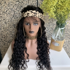 150% Density Brazilian Virgin Hair Loose Wave Full Lace Wig With Baby Hair Virgin Human Hair Pre Plucked Lace Wigs For Black Woman
