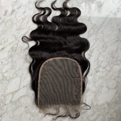 Transparent Lace Closure 7x7 Body Wave Hair Closure Natural Hairline With Baby Hair